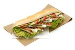 Grill csirk�s - fet�s bagett szendvics