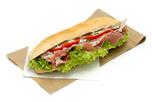 Paraszt sonkás bagett szendvics