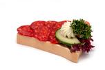 Kolbászos party szendvics
