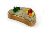 Padlizsán krémes party szendvics