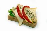 Mozzarellás-paradicsomos party szendvics