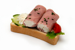 Sonka roládos party szendvics